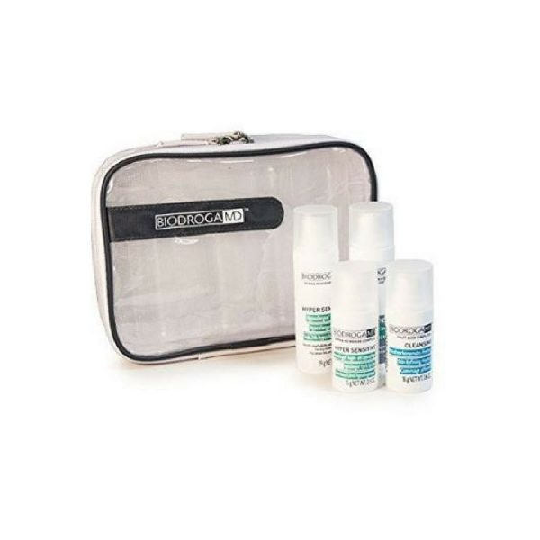 sensitive skin travel and gift set biodroga md