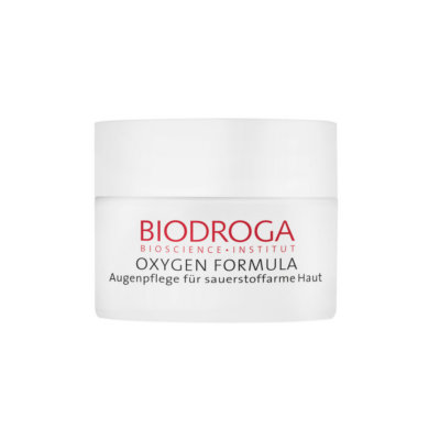 Biodroga's Eye Care for Sallow Skin complements skin's natural ability to utilize oxygen.