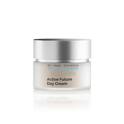 Dr. med. Schrammek Active Future Day Cream is a day cream for mature skin. Prevents loss of elasticity and moisture. Strengthens the collagen and elastin fibers.