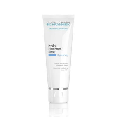 Dr. med. Schrammek Hydra Maximum Maskis an intensively moisturizing, gentle, cooling facial mask.