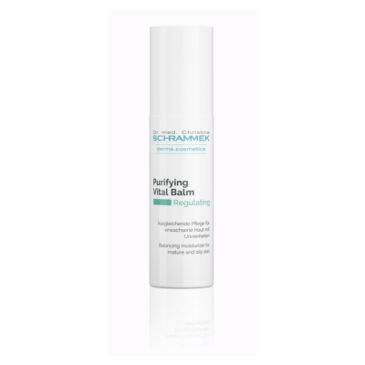 The Purifying Vital Balm is an anti-aging, balancing moisturizer for impure and oily skin.