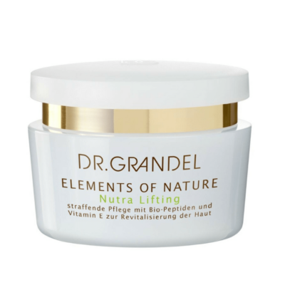 Dr. Grandel Elements of Nature Nutra Liftingis a firming 24-Hour Moisturizer. Biopeptides and Vitamin E work enhance skin's elasticity