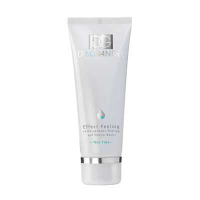 Dr. Grandel Effect Peeling is creamy exfoliator consisting of enzymes and finely ground bamboo. Removes keratinized upper skin cells and impurities.