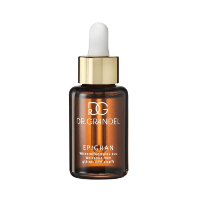 Dr. Grandel EONEPIGRAN ESSENCEis awater-soluble complex of active substances, derived from wheat germ and wheat bran. Smooths lines and wrinkles.