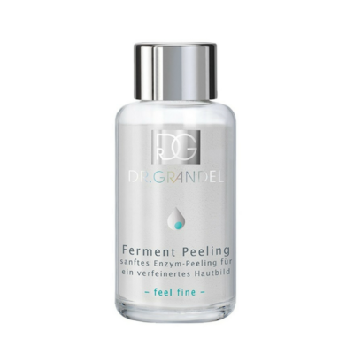 Dr. Grandel Ferment Peeling/Enzyme is a gentle, enzyme exfoliator.  Removes dead skin cells.  Pleasant skin care result with it's feather-light foam.