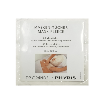 Dr. Grandel Fleece Mask is used with the Dr. Grandel Alpha Effect AHA Treatments. It can also be used with other treatments.