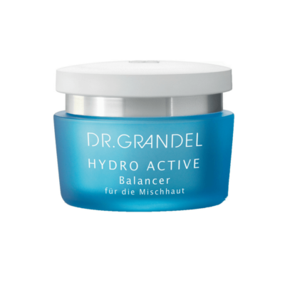 Dr. Grandel HYDRO ACTIVE Balancer adds moisture to the skin. Reduces unpleasant, oily shine and leaves skin feeling pleasantly fresh and light.