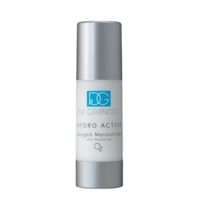 """Dr. Grandel HYDRO ACTIVE Oxygen Moisturizeris a lightweight fluid that hydrates and revives the skin. Itis like """"A BREATH OF FRESH AIR FOR YOUR SKIN""""."""