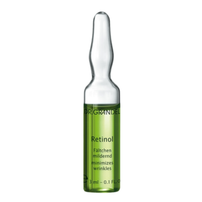Dr. Grandel's Retinol Ampoule is an active ampoule with superb anti-wrinkle effect. Itresults in a smoother, more refined skin.