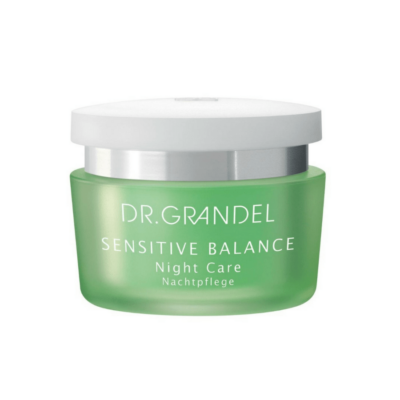 Dr. Grandel SENSITIVE BALANCE Night Care is a 24 – Hour Moisturizer for dry skin.  Soothes sensitive skin and promotes cell renewal.