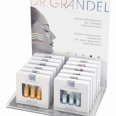 Dr. Grandel Ampoule Counter Display