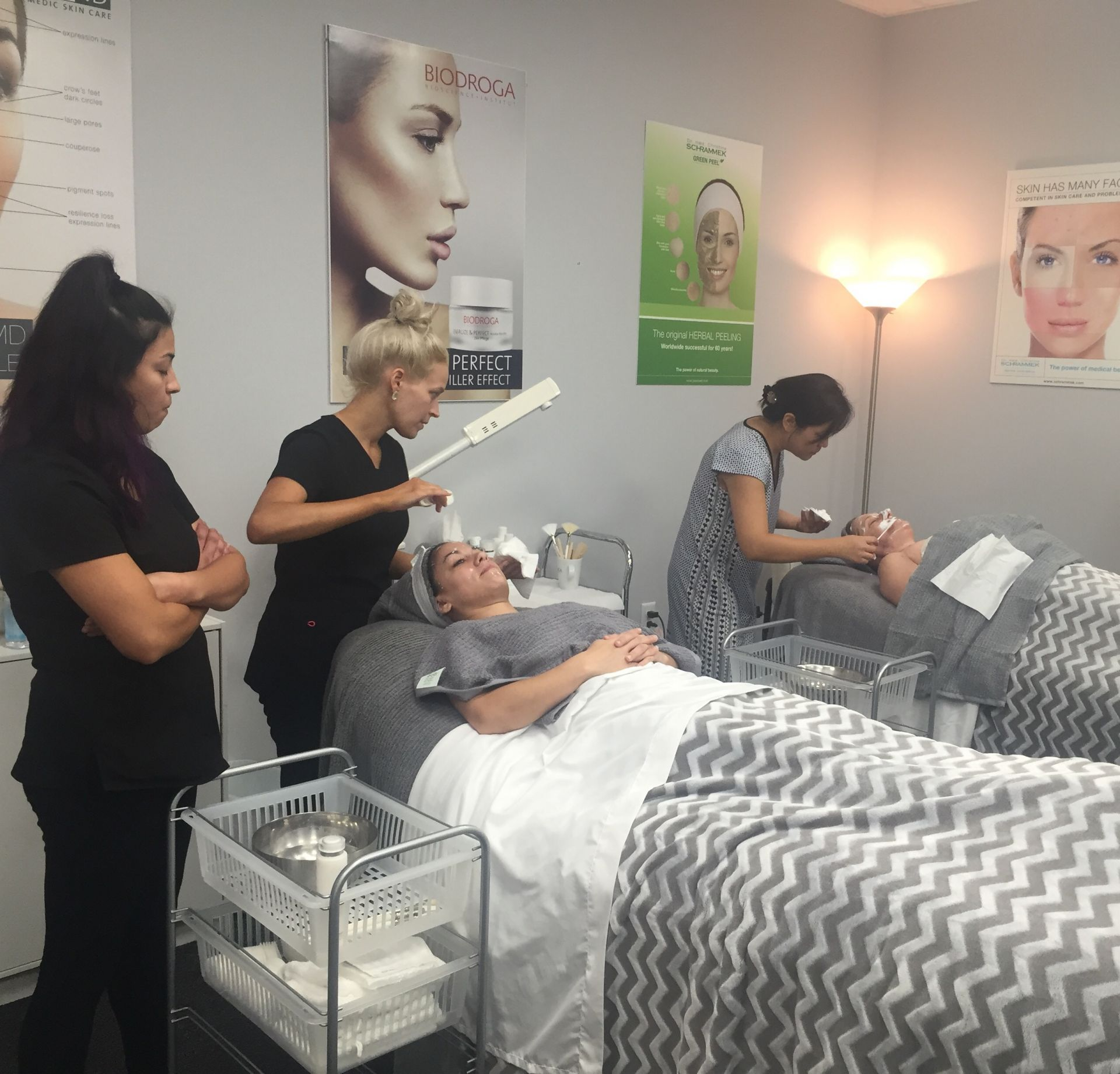 advanced training estheticians houston texas