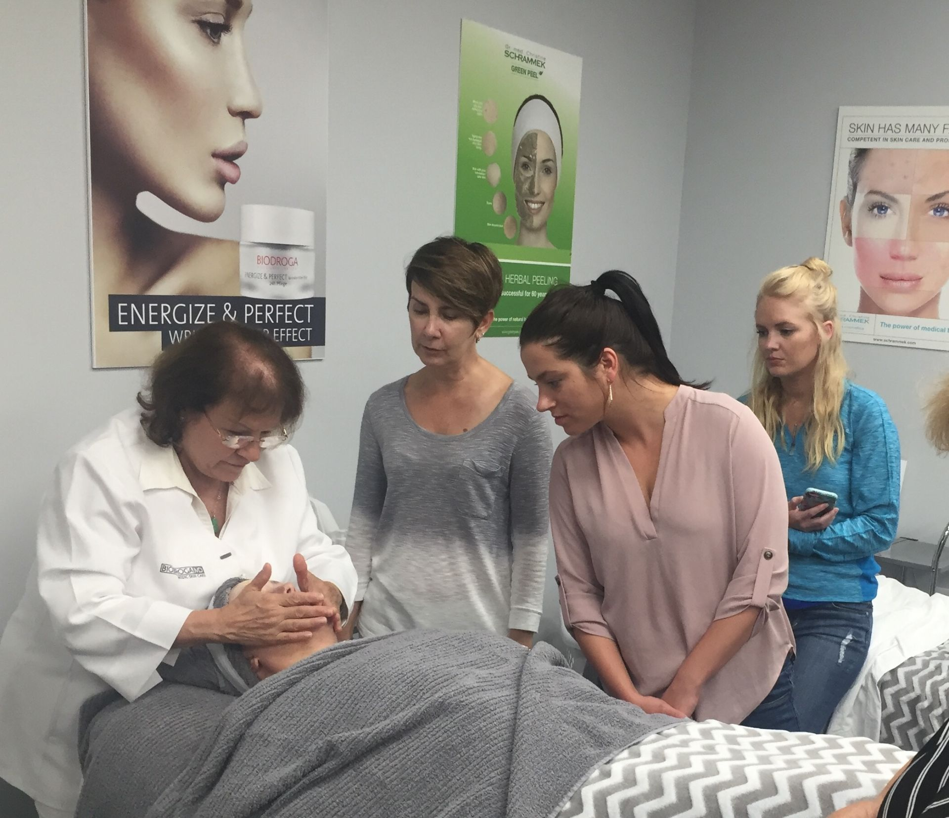 dr. grandel professional skin care estheticians training