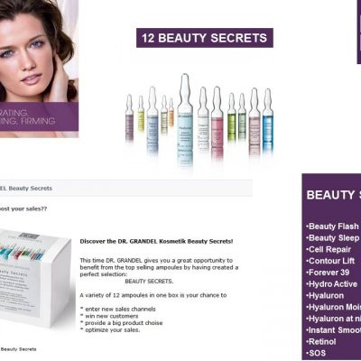 Beauty Secrets Ampoules Dr. Grandel