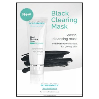Dr. Schrammek black clearing charcoal mask