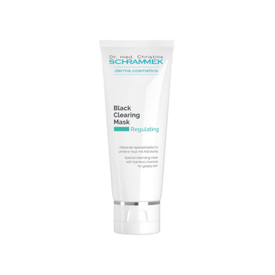 Dr. Schrammek Black Clearing mask professional skin care