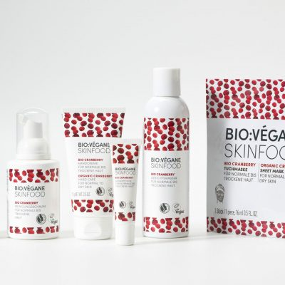 BioVegane organic skincare cranberry