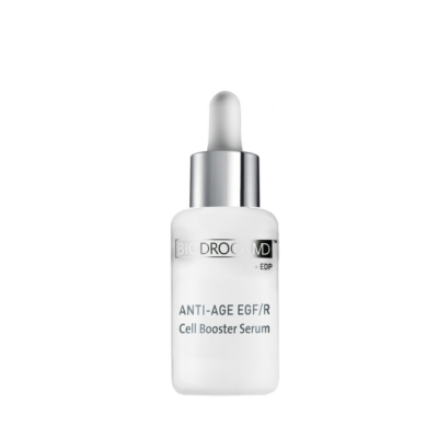 Biodroga MD Anti-Age EGF/R Cell Booster Serum optimally transports ingredients to skin cells.